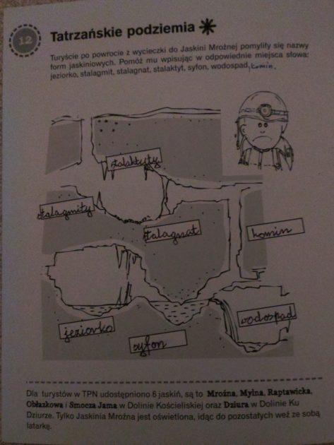 """Przykładowe zadania z książeczki """"Przyjaciel TPN"""""""