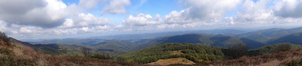 Bieszczadzka panorama