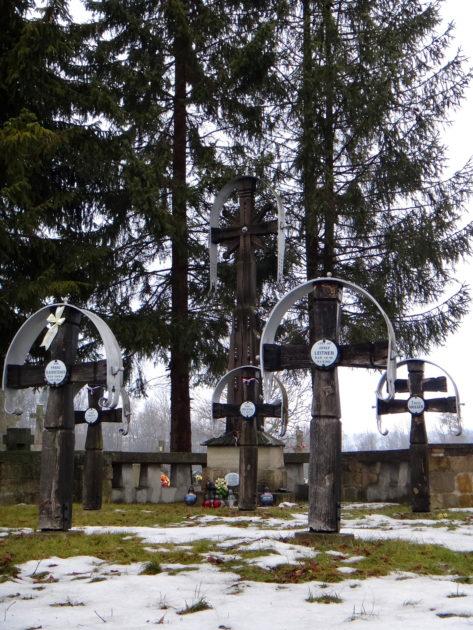 Cmentarz wojenny w Smerekowcu.