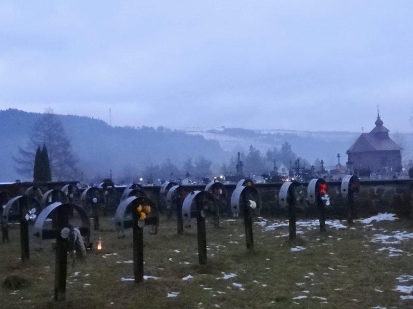Cmentarz wojenny w Uściu Gorlickim.