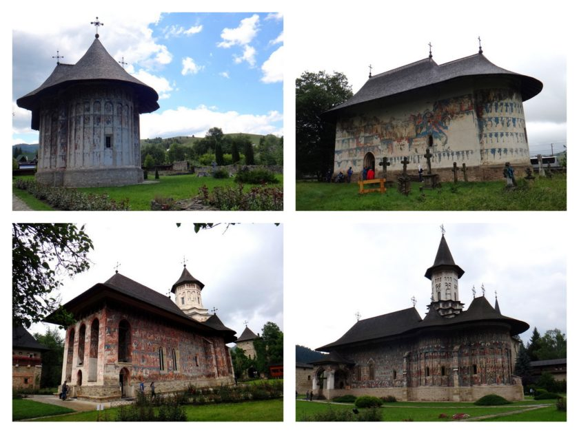 Malowane klasztory - Humor, Arbore, Sucevita, Moldovita