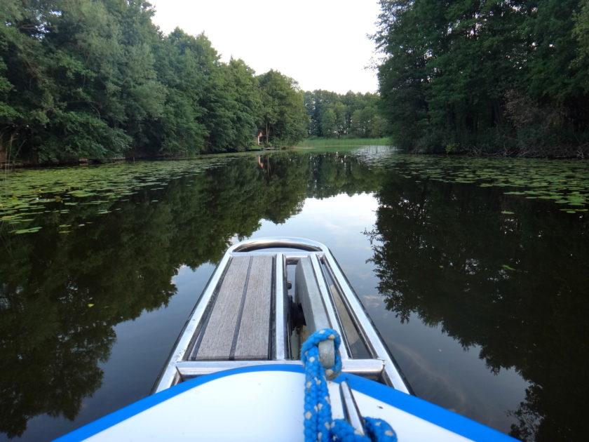 Na wodach Kanału Elbląskiego.