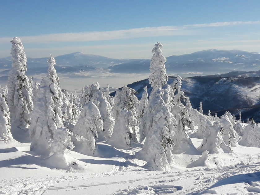 Szczyrk zimą. Bajkowy krajobraz.