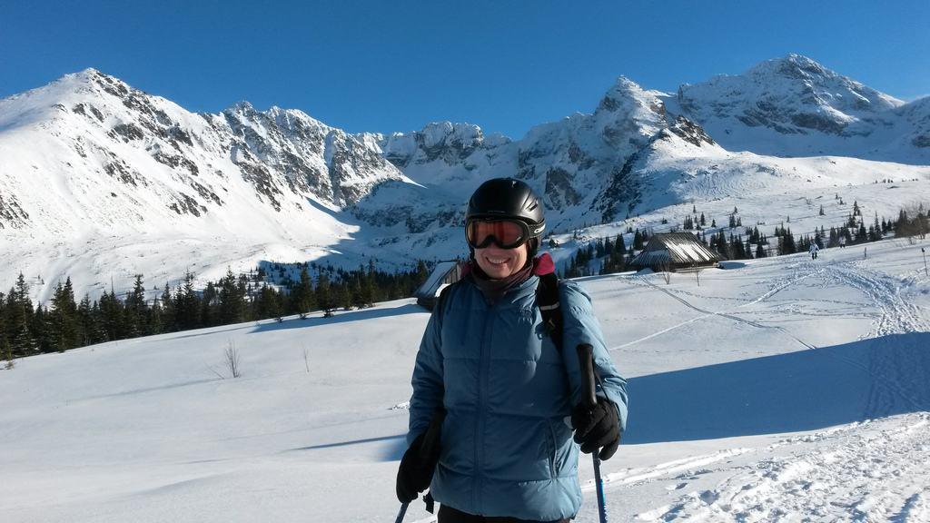 Na Hali Gąsienicowej na skiturach.