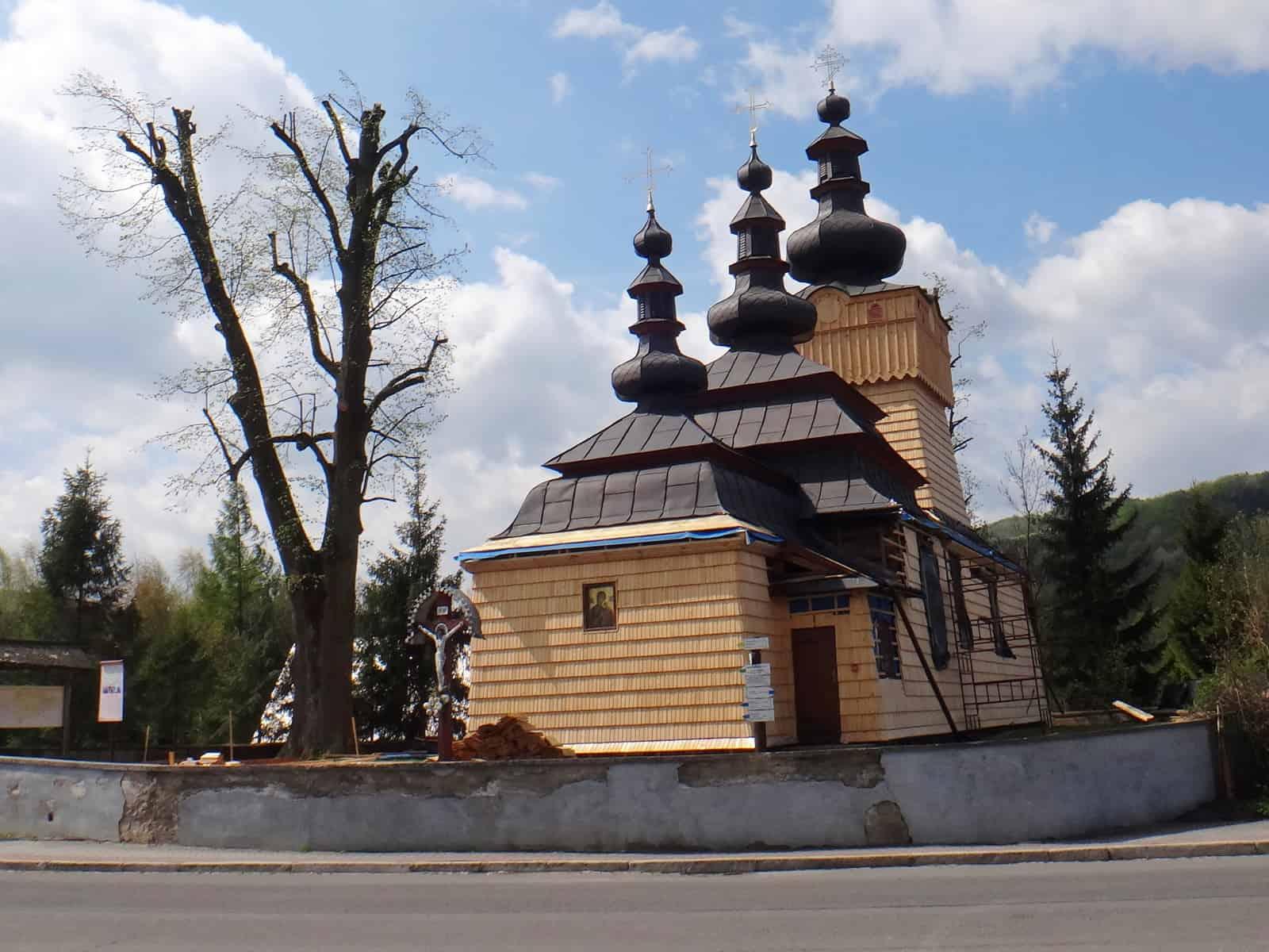 Cerkiew w Wysowej.