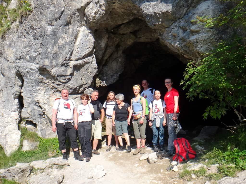 Grupa pod Jaskinią Obłazkową.