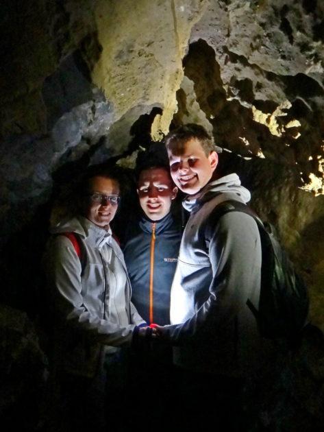 My w Jaskini Bielskiej.
