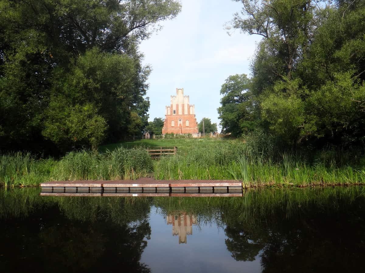 Wielka Pętla Wielkopolski - kościółek w Warzymowie.