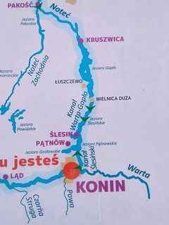Wielka Pętla Wielkopolski  - nasza trasa.