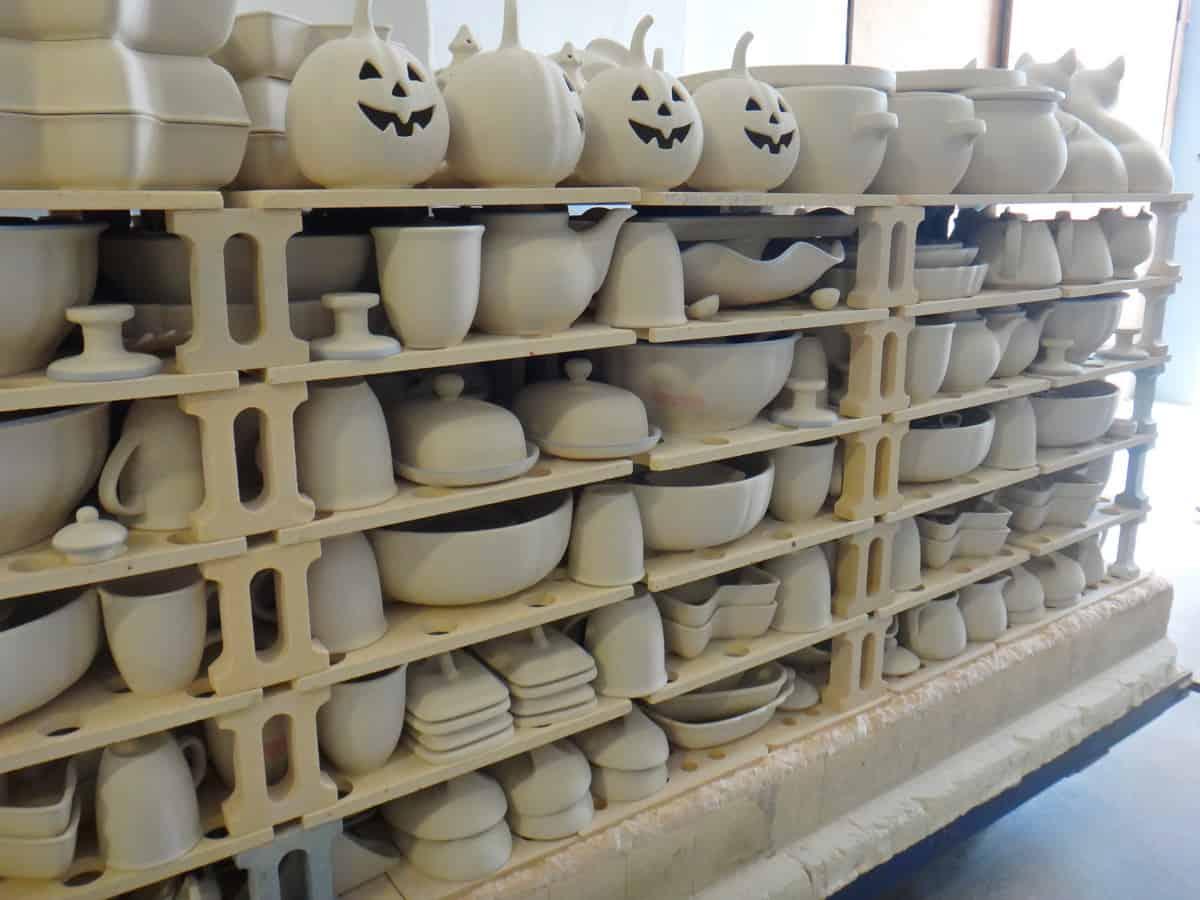 Żywe muzeum Ceramiki w Bolesławcu. Biskwit.