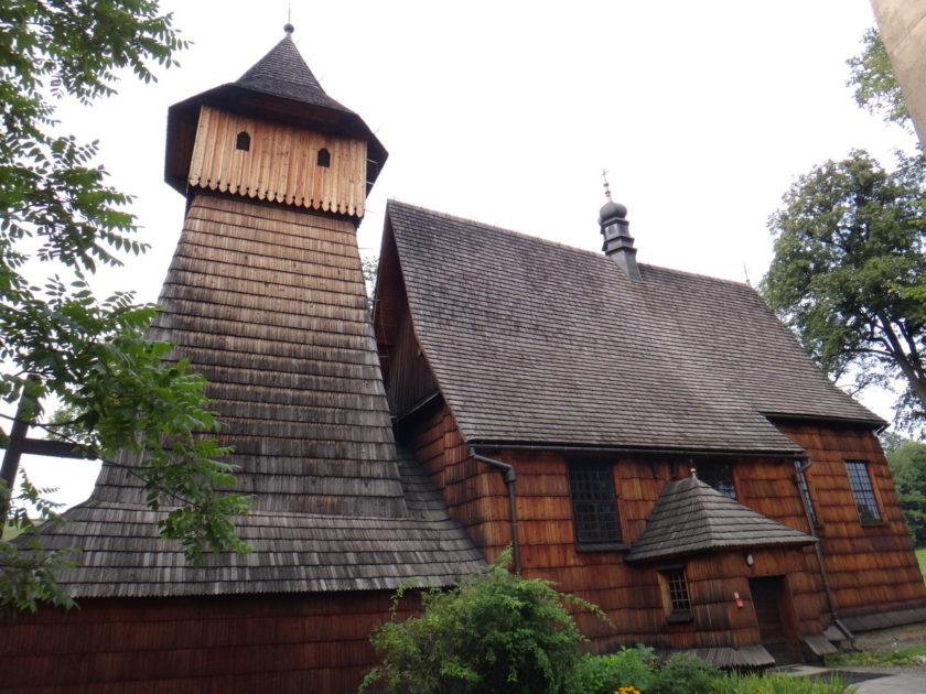 Kościół w Binarowej.