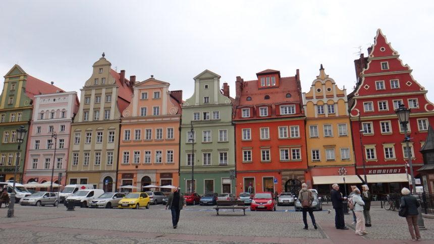 Kamieniczki na Placu Solnym.