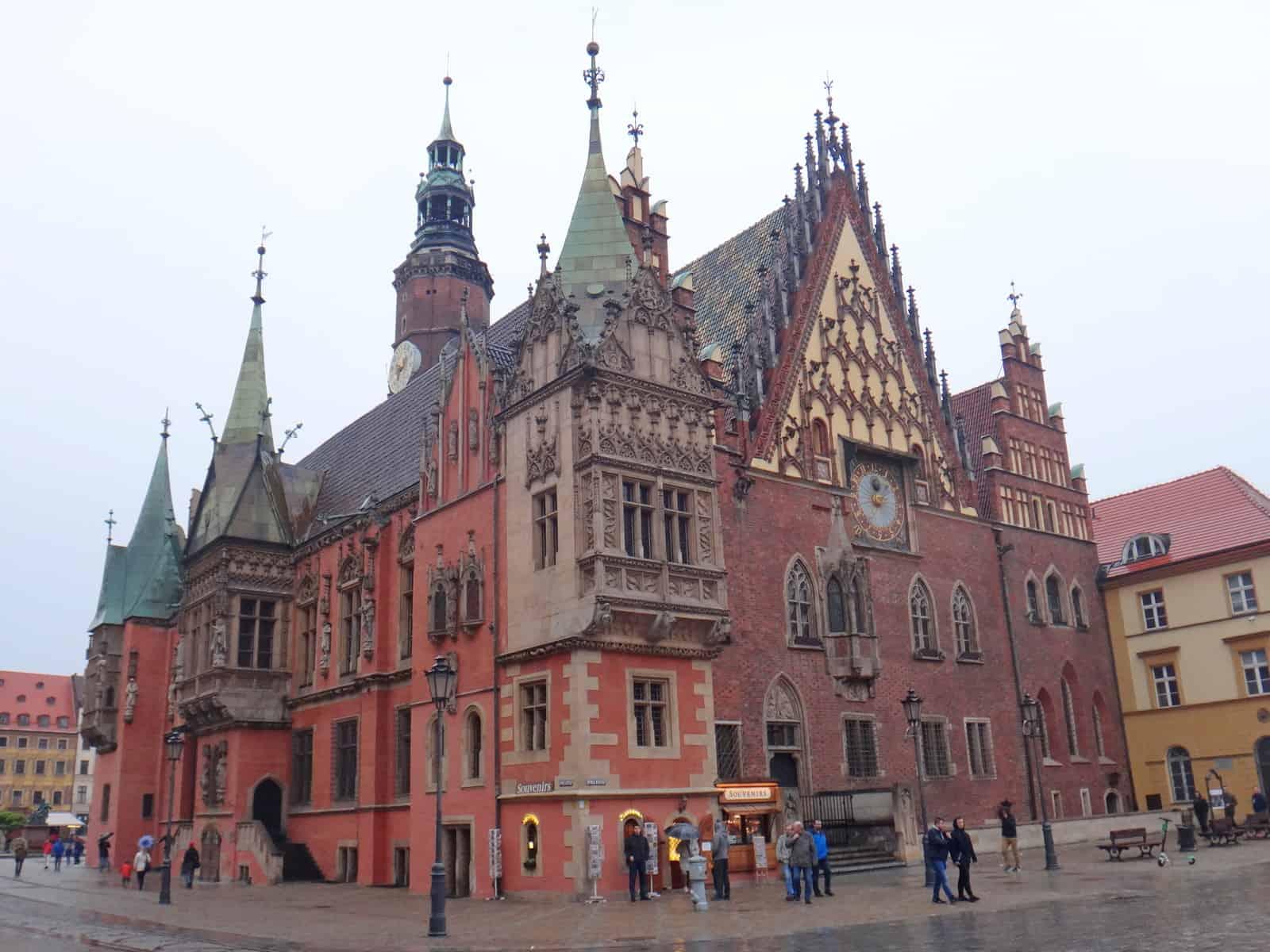 Ratusz we Wrocławiu.