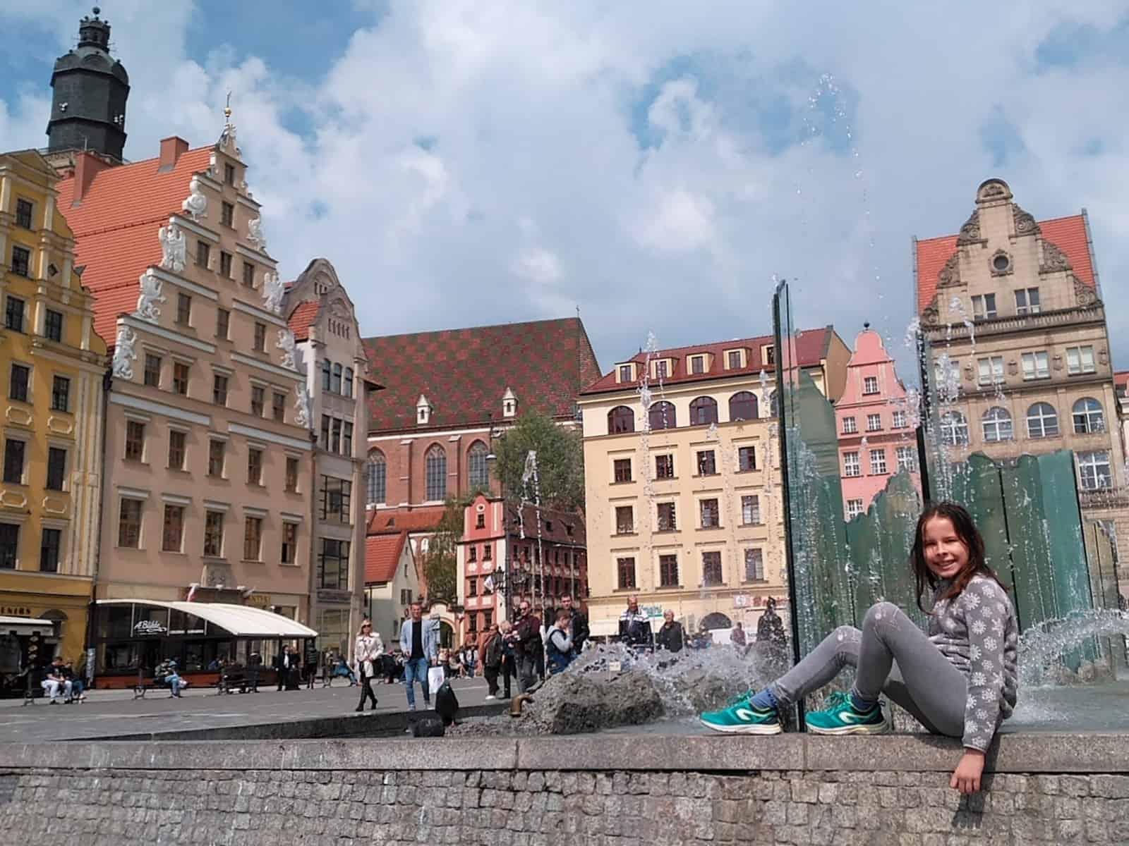 Fontanna Zdrój na wrocławskim Rynku.