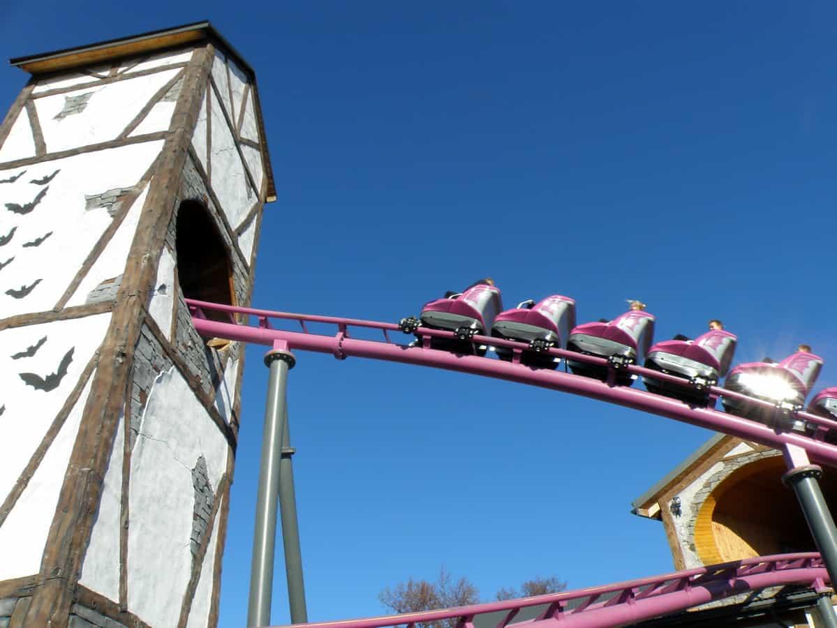 Rollercoaster Bumerang w Energylandii.