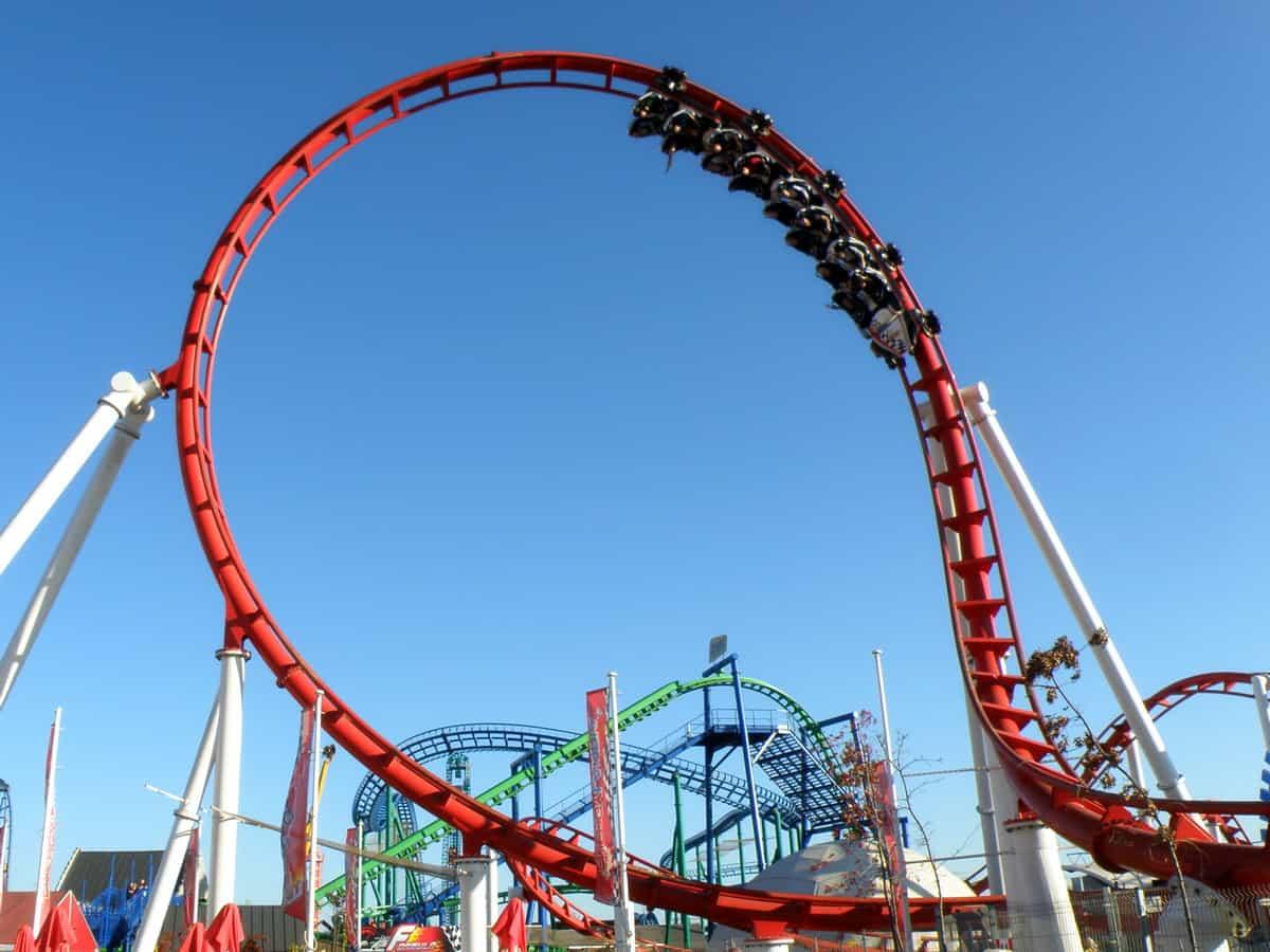 Rollercoaster Formuła w Energylandii.
