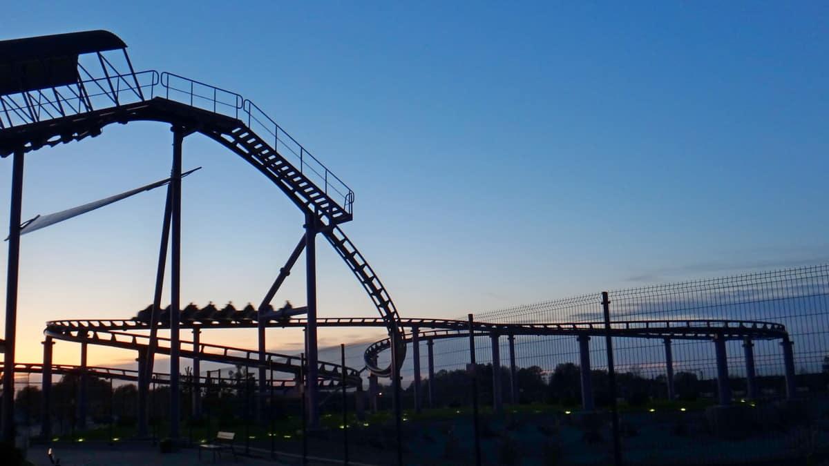 Rollercoaster Frida w Energylandii.