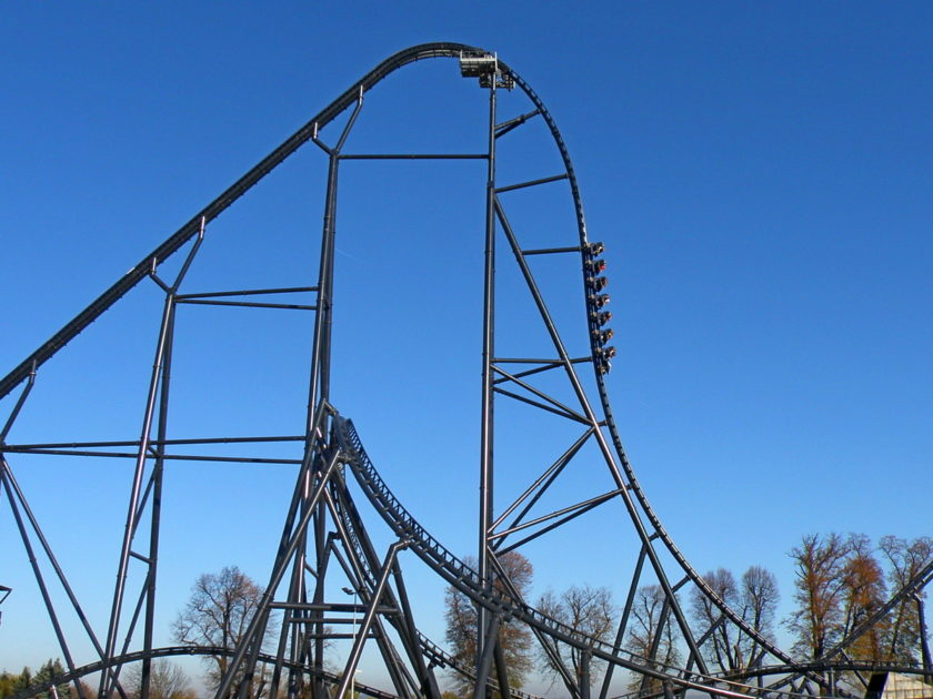 Energylania. Rollercoaster Hyperion.