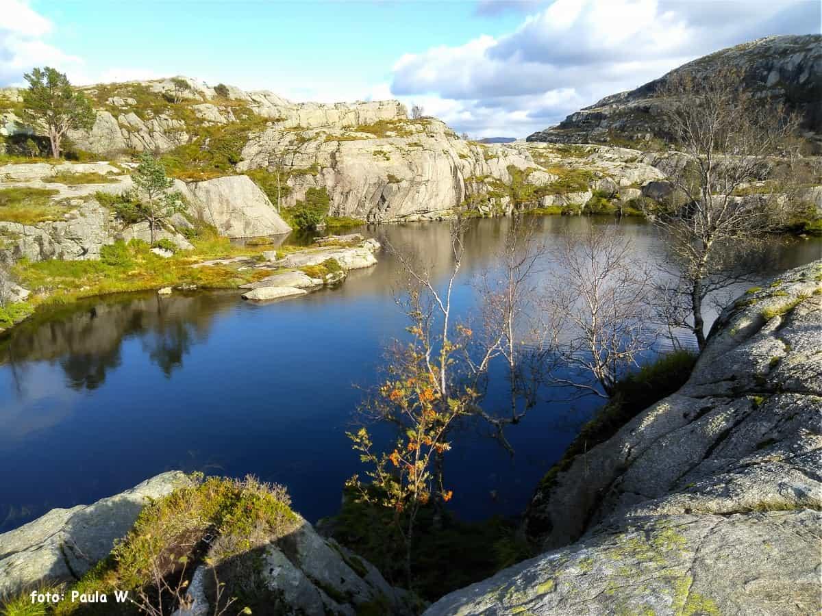 Jeziorka Tjødnane.