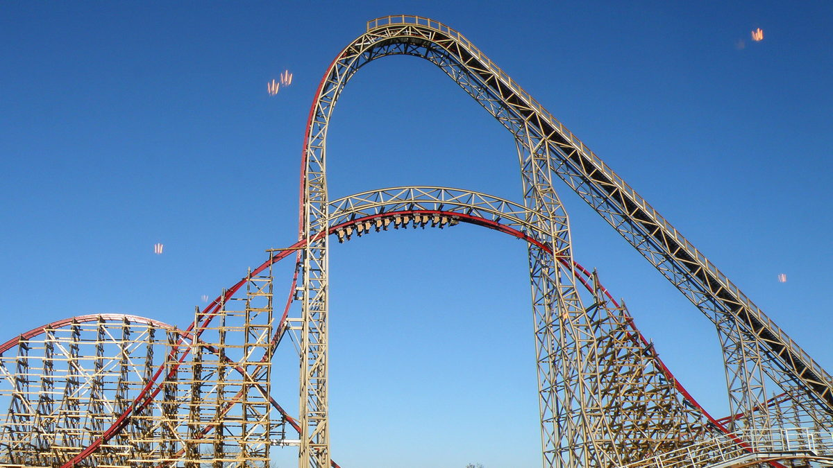 Rollercoaster Zadra w Energylandii.