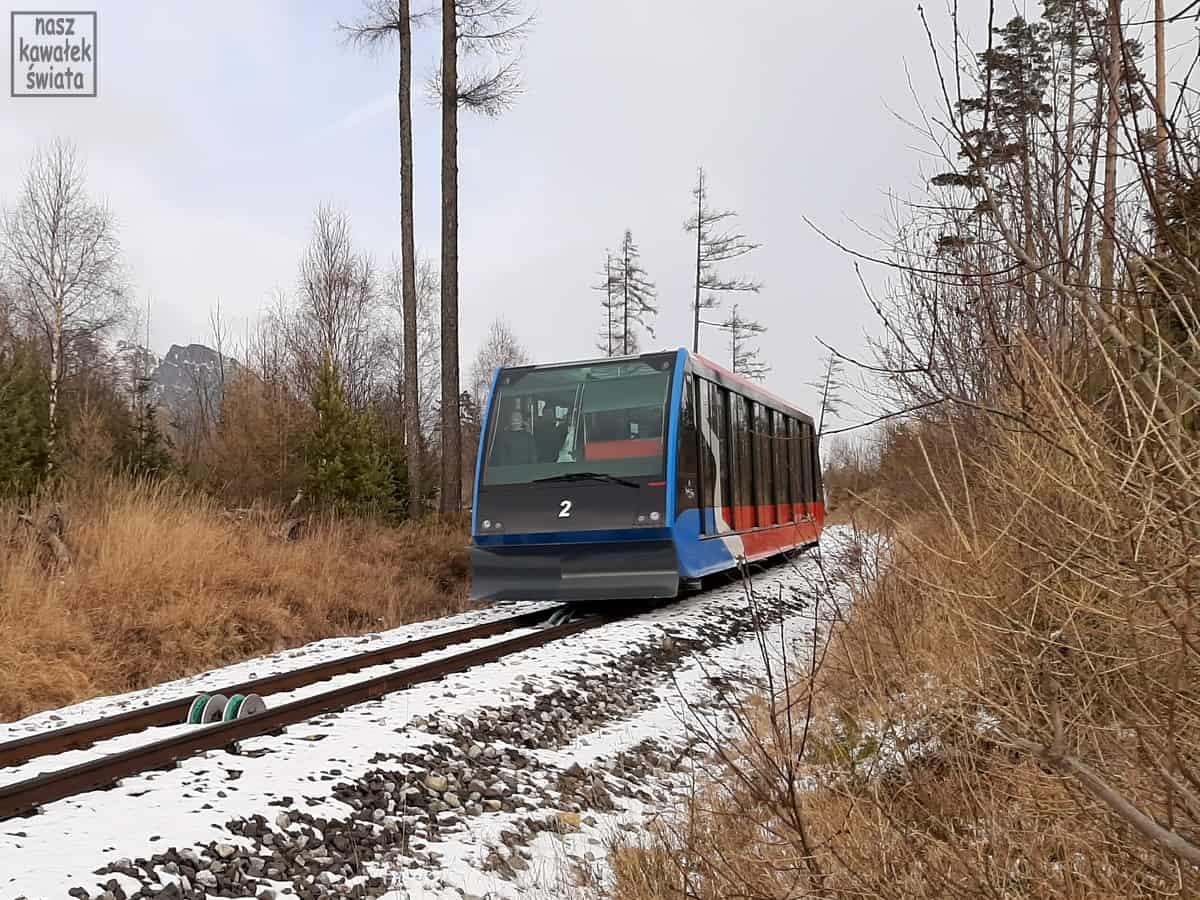 Kolejka linowo-terenowa na Hrebienok.