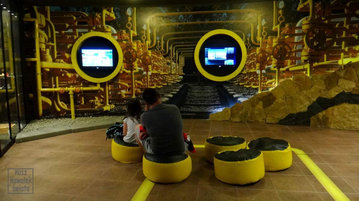 Multimedialna ścieżka o gazie ziemnym w muzeum ropy naftowej w Bóbrce.