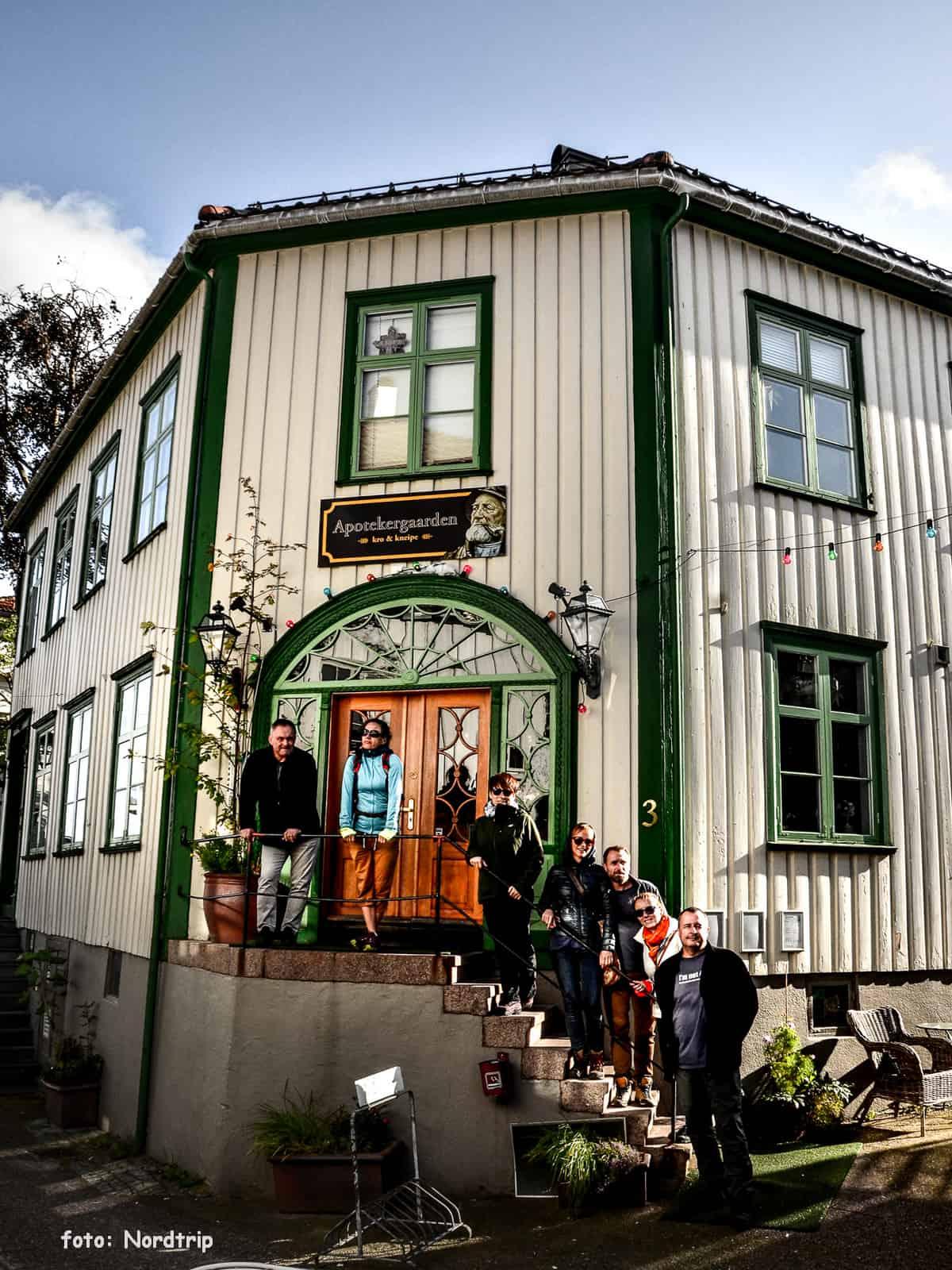 Apthekergarden w Grimstad.