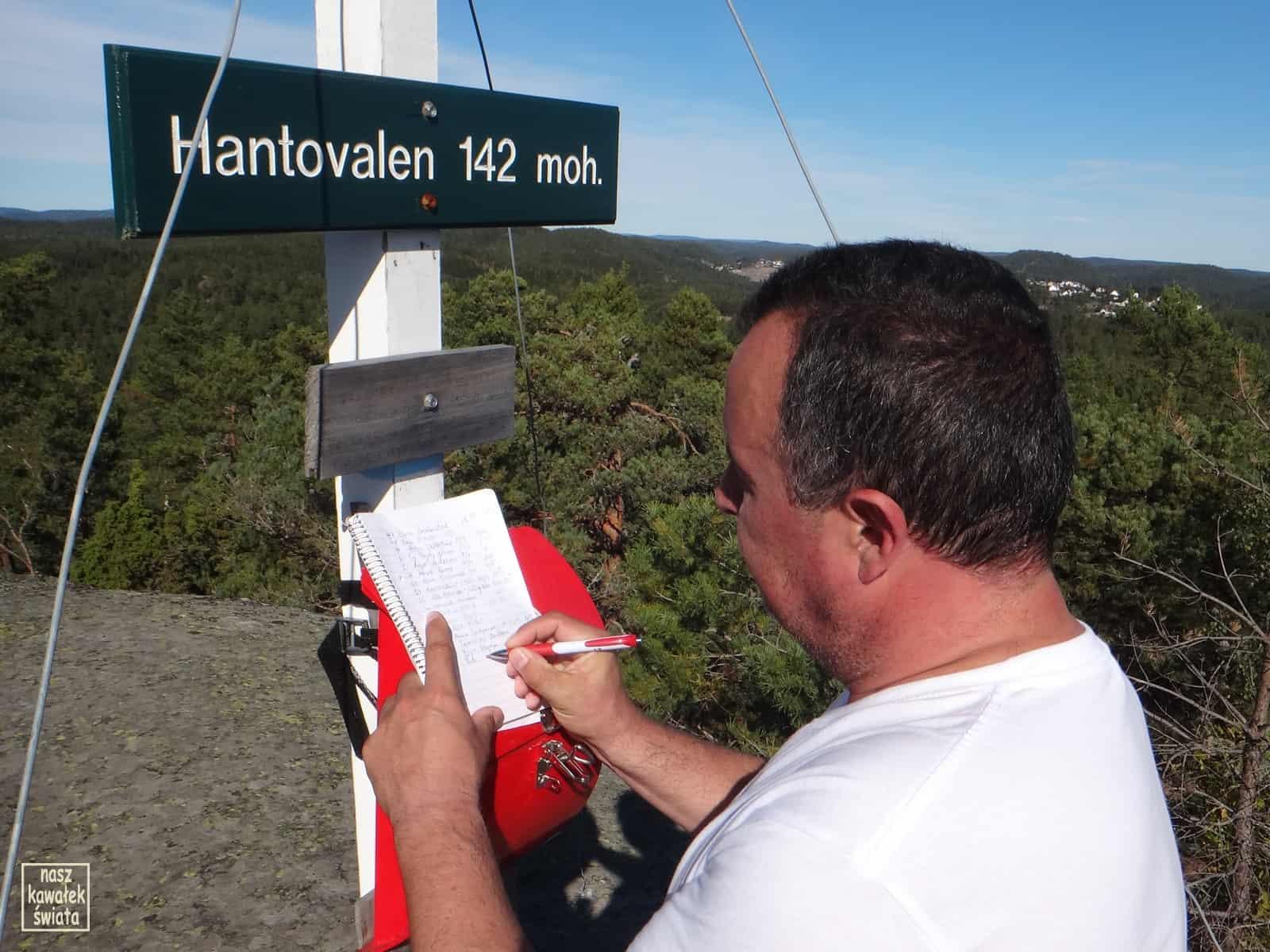Na szczycie Hantovalen.