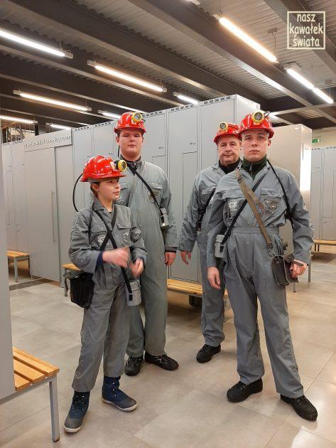 przed zjazdem do kopalni w wieliczce