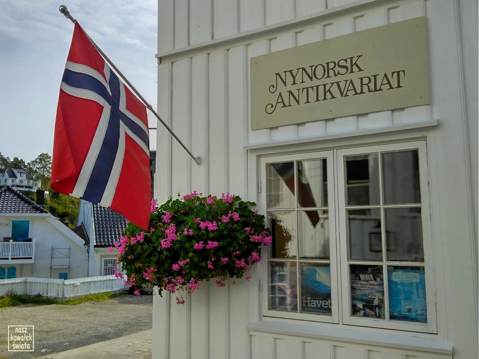 Antykwariat w Tvedestrand.