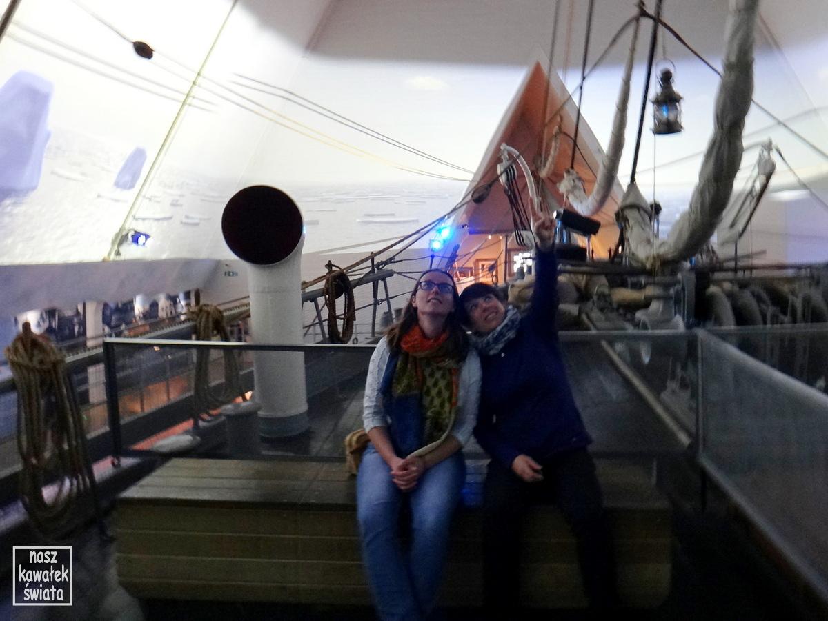Na pokładzie statku Fram.