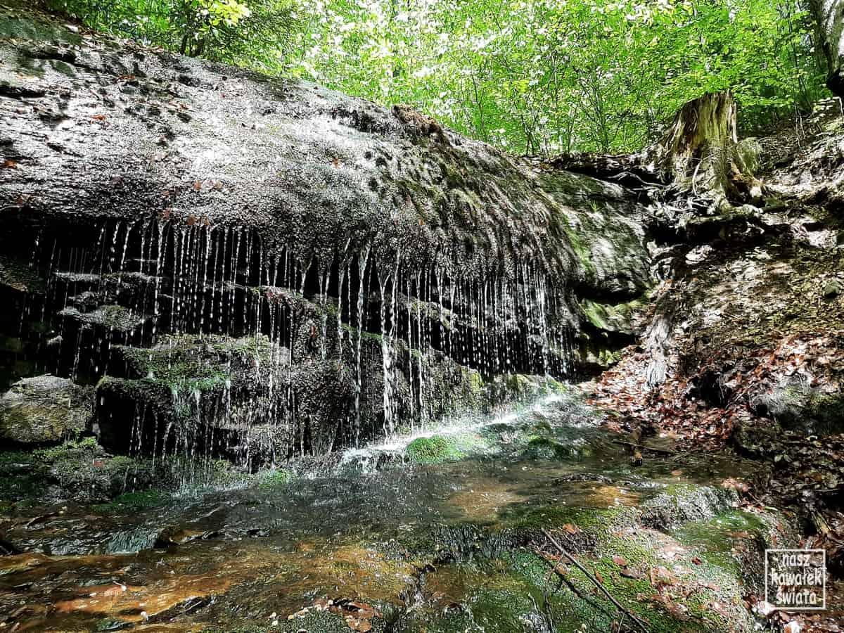 Wodospad Dusiołek.