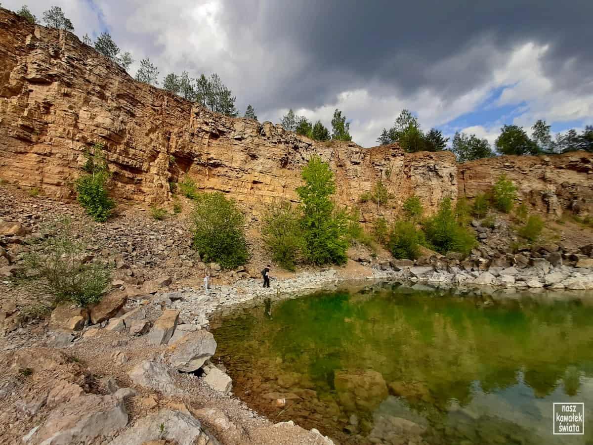 Nad zbiornikiem Wydra w parku gródek w Jaworznie