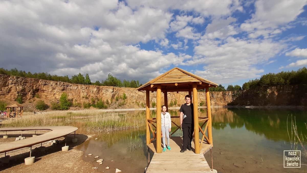 Altanka nad zbiornikiem Wydra