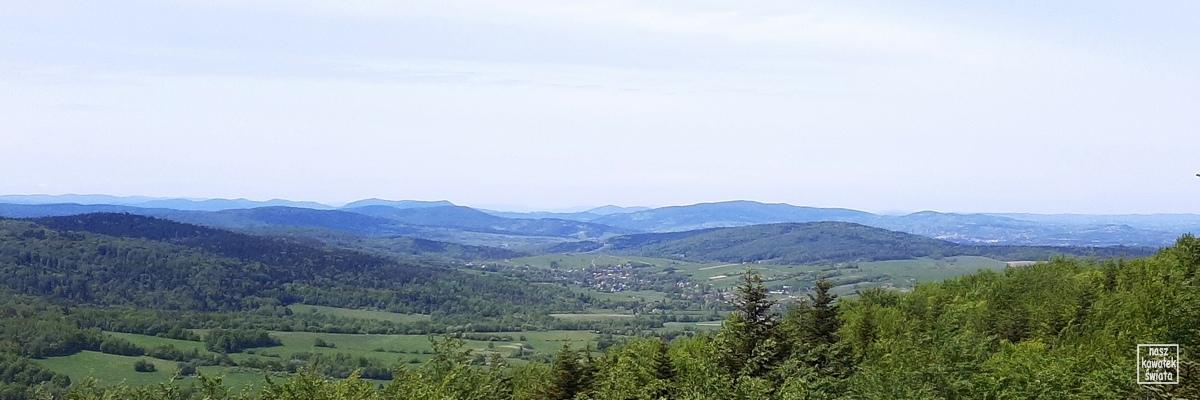 Ferdel - panorama z wieży widokowej