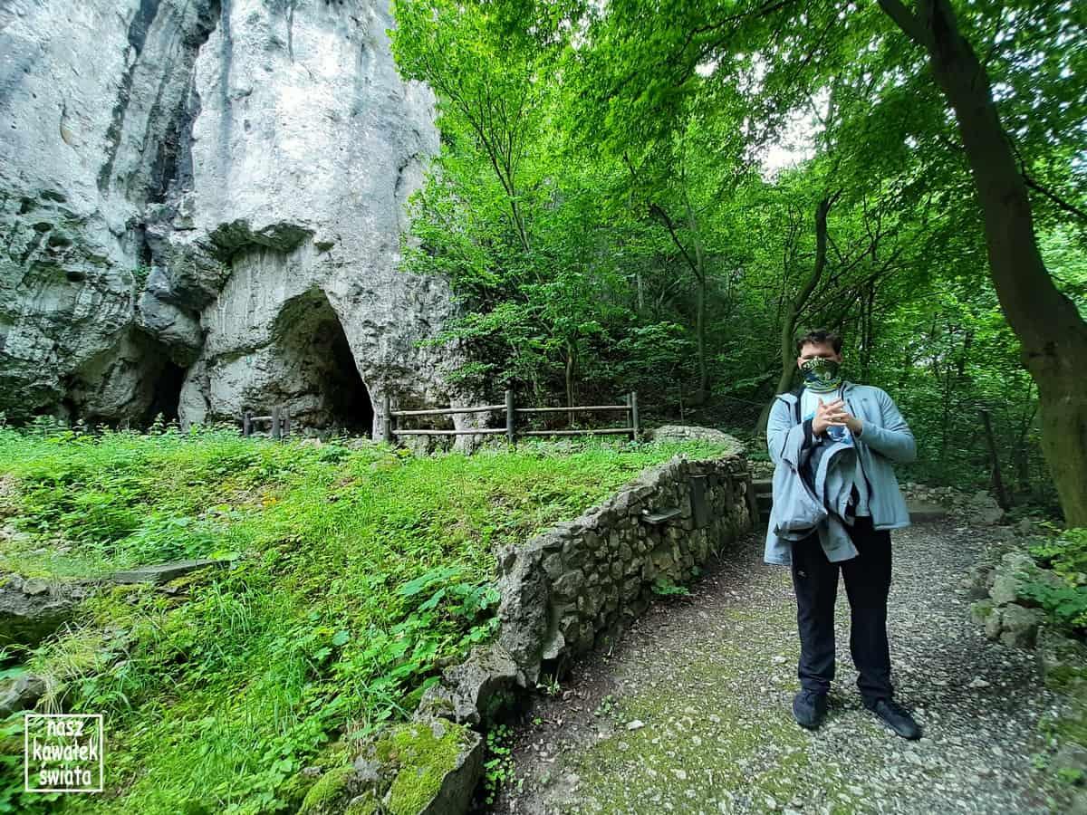 Jaskinia Wierzchowska - wejście.