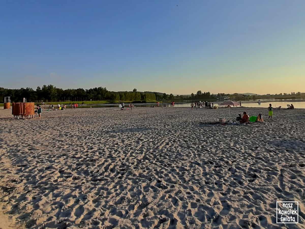 Kuter Port - plaża.