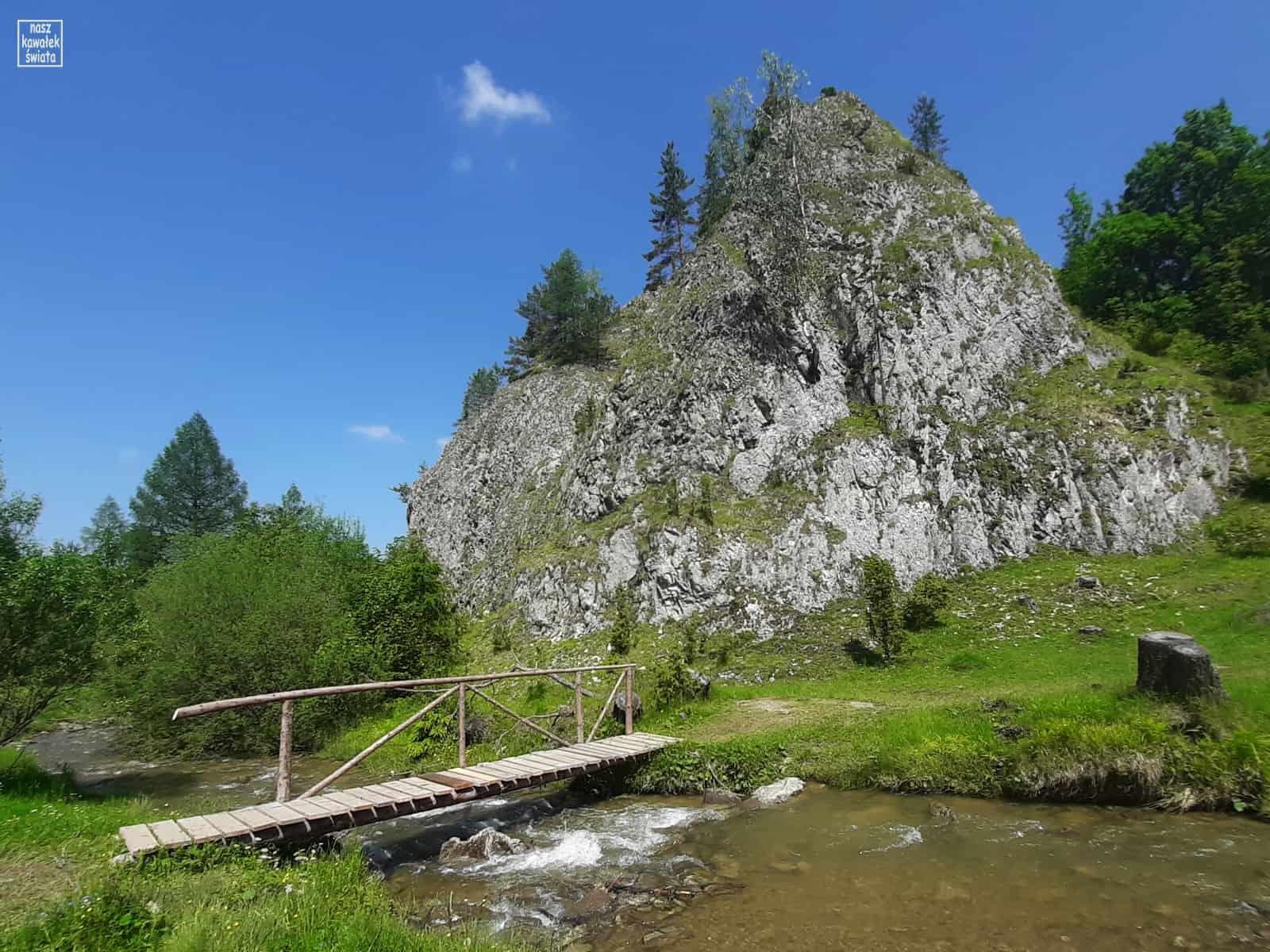 Rezerwat Biała Woda. Kociubylska Skała.