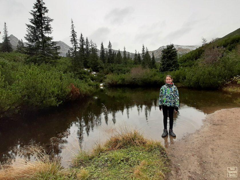 Mokra Jama - jeden ze Stawów Gąsienicowych