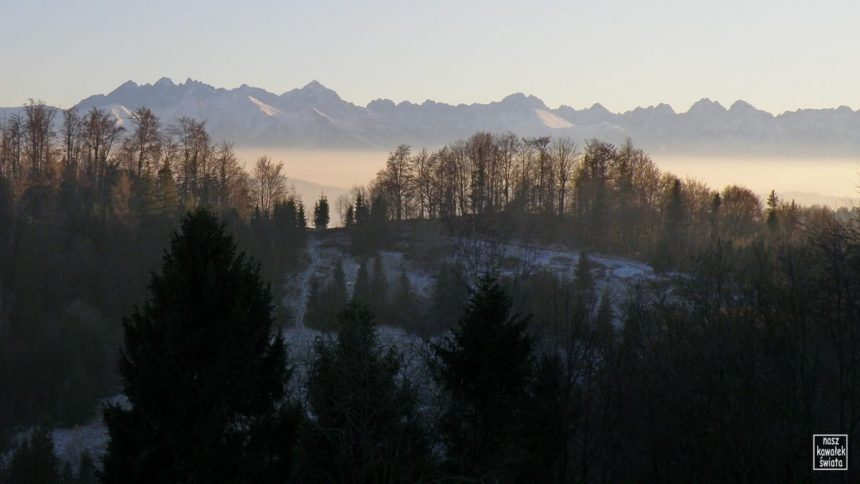 Panorama Tatr ze Szlaku Wołoskiego na Magurki