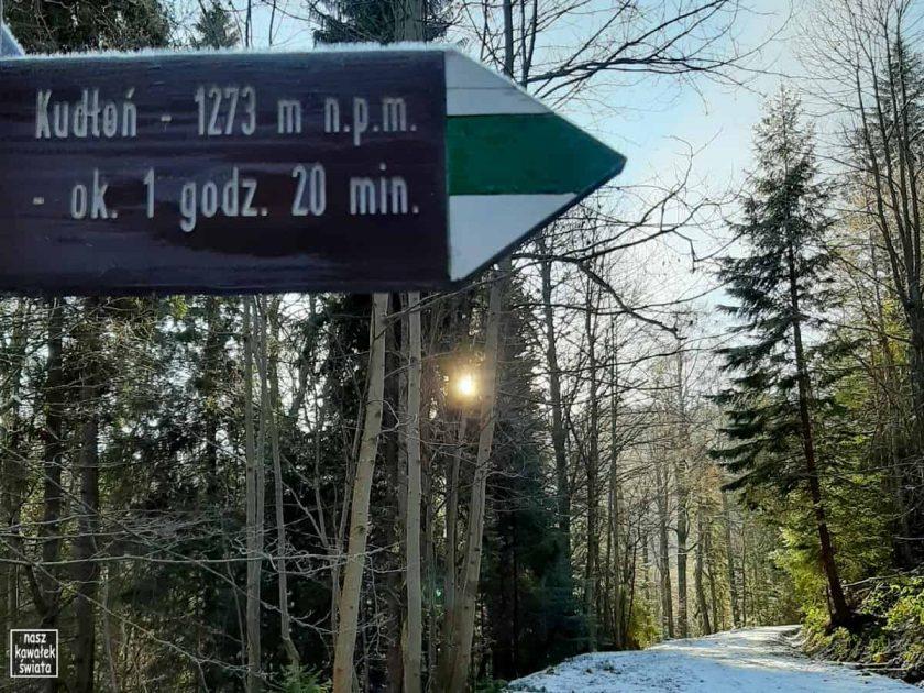 Szlak na Kudłoń