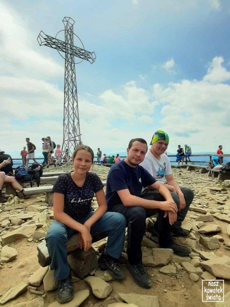 Tarnica - na szczycie