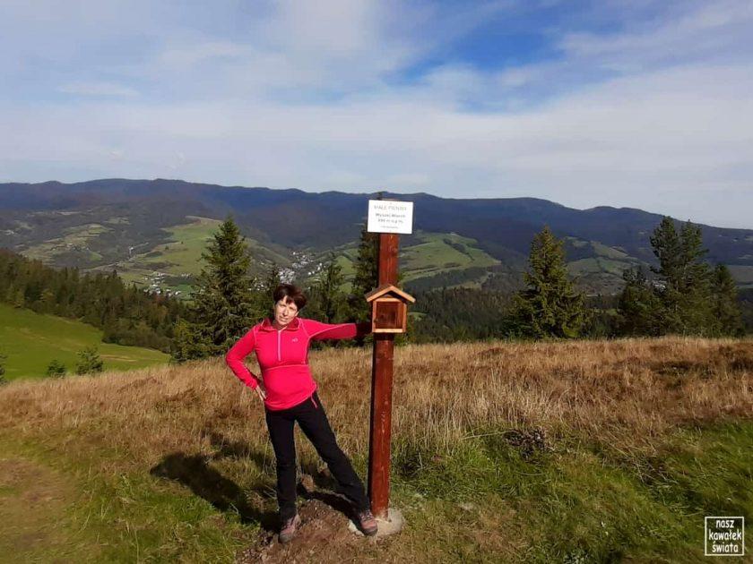 Wysoki Wierch - tabliczka na szczycie