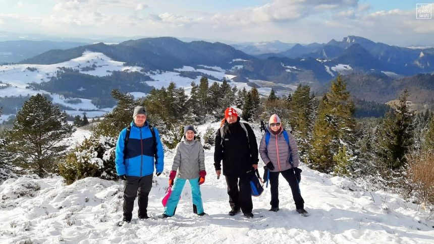 Wysoki Wierch - zimowa rodzina w komplecie