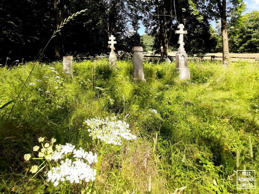 Cmentarz nad cerkwią w Bielicznej