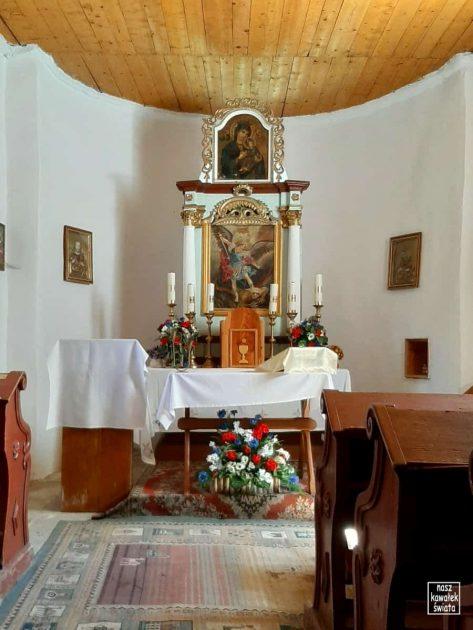 Cerkiew w Bielicznej - wnętrze