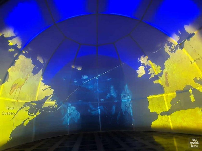 Kadr z filmu na wystawie Powroty 2021-1961-1921