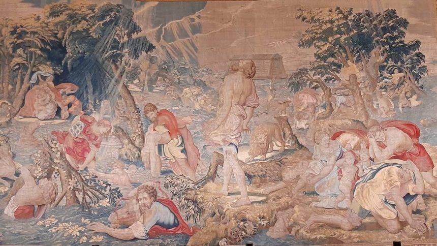 Arrasy wawelskie - dzieje Noego