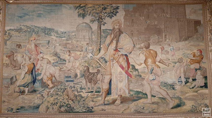 Arrasy wawelskie - dzieje wieży Babel