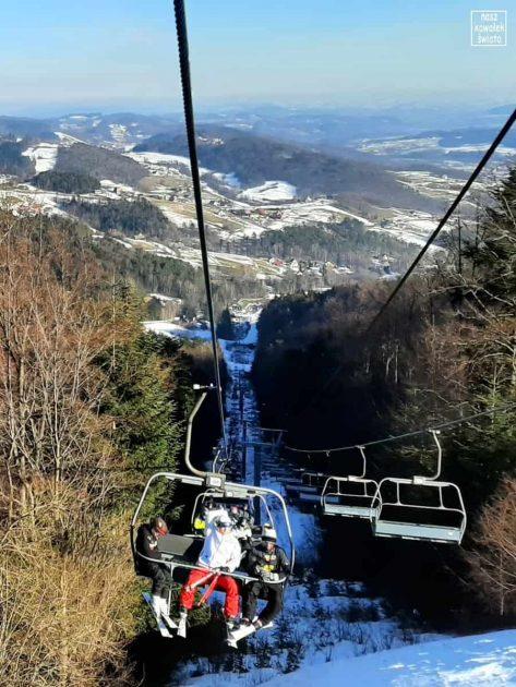 Laskowa Ski - wyciąg